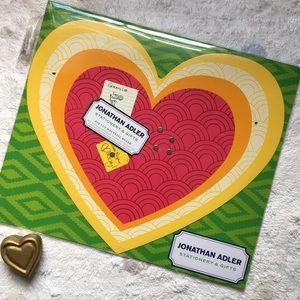Jonathan Adler Be Magnetic Super Chic Heart Board